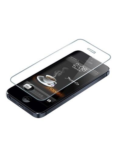 Kingshark iPhone 5 Tempered Glass Çizilmez Cam Ekran Koruyucu Renksiz